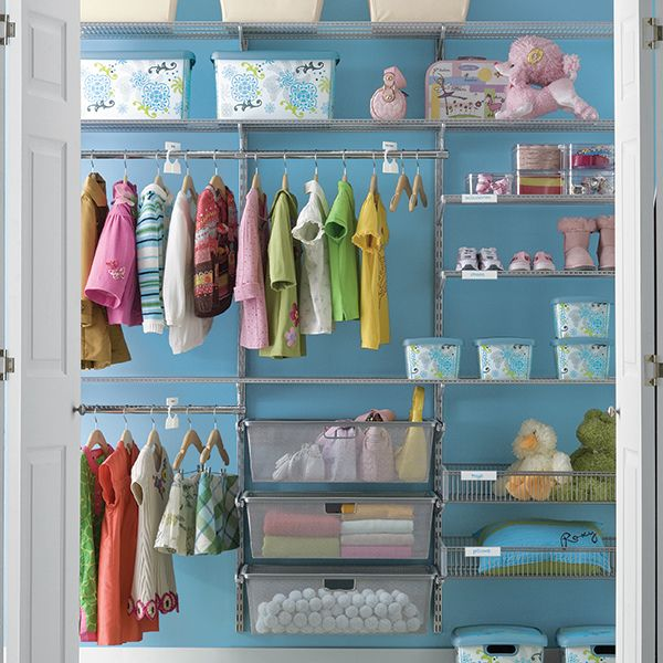 376 best images about organizing baby nurseries on for No closet solutions