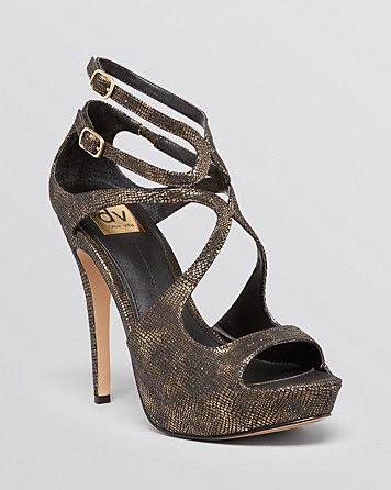 DV Dolce Vita Platform Evening Sandals - Brielle High Heel | Bloomingdale's