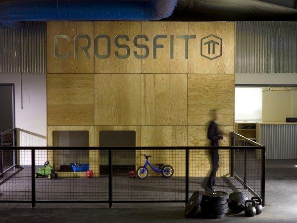 CrossFit TT, South Burlington VT by Modern Vermont, via Behance