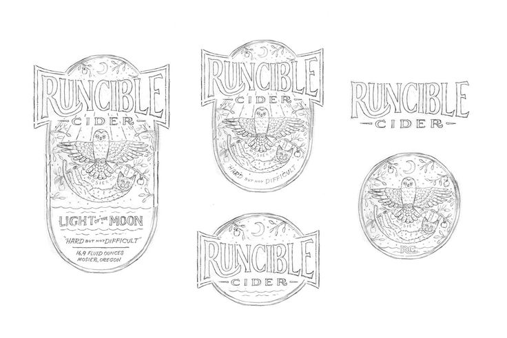 Runcible Cider on Packaging of the World - Creative Package Design Gallery