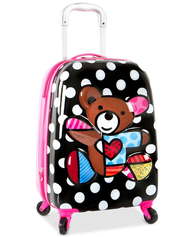 Heys Britto 3D Teddy Bear Spinner Suitcase - Kids' Luggage - Luggage & Backpacks - Macy's