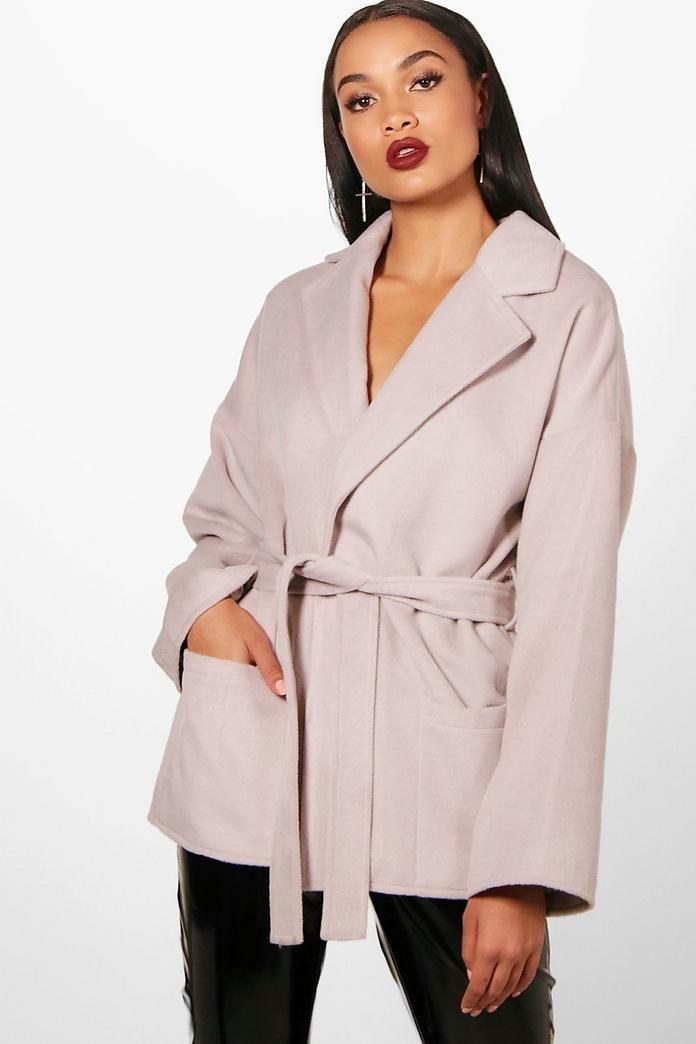 a6d7e39e4083 Harriet Belted Robe Coat