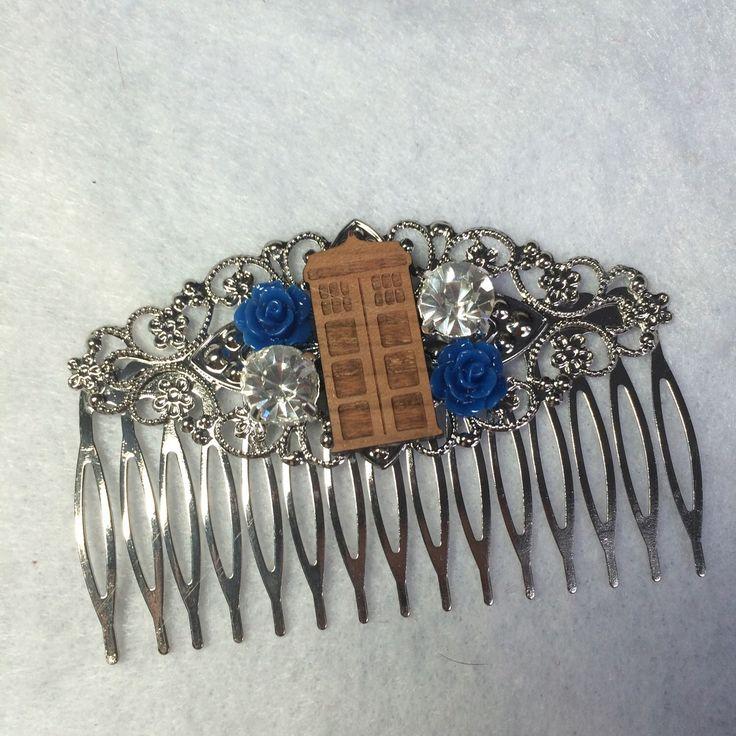 Doctor Who Wedding Hair Comb Geek Nerd Tardis by ShaesBridal on Etsy https://www.etsy.com/listing/239308871/doctor-who-wedding-hair-comb-geek-nerd