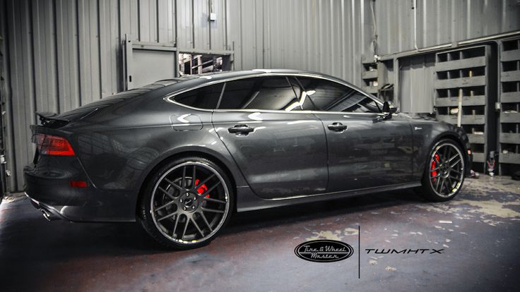 Grey Audi A7 with Gianelle Yerevan Wheels. | Audi | Pinterest | Audi a7, Audi and Wheels