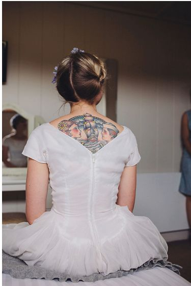 One of our alternative brides Hair & Makeup WHAM Artists http://weddinghairandmakeupartists.com/