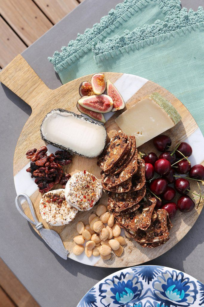 Whether you're hosting a casual game-day viewing party, a glam cocktail party, or something in between, we have an appetizer to match. Pictured: Cheese Plate Recipe.