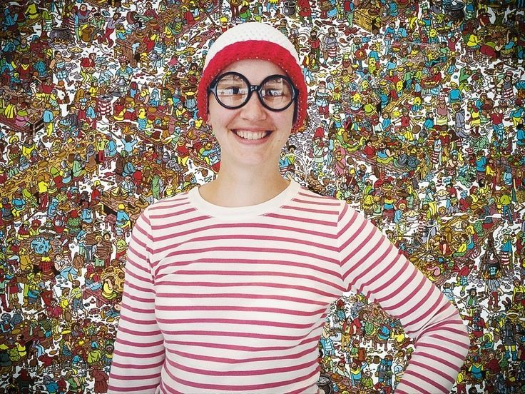 Where's Waldo Crochet Hat  •  Free tutorial with pictures on how to make a character hat in under 120 minutes
