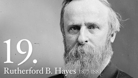 19  Rutherford B. Hayes