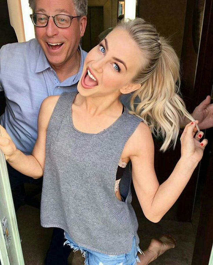 Julianne Hough And Bruce (her Dad)