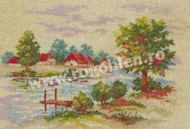 Cod produs 6.36 Peisaj nostalgic Culori: 16 Dimensiune: 12 x 16cm Pret: 34.97 lei