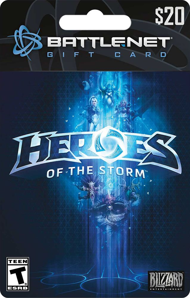 Blizzard - $20 Heroes of the Storm Battle.net Gift Card