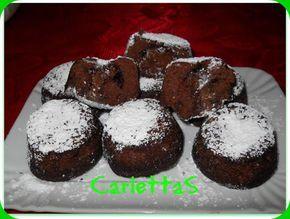 muffin cacao con ripieno nutella