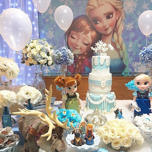 fiesta tematica de frozen