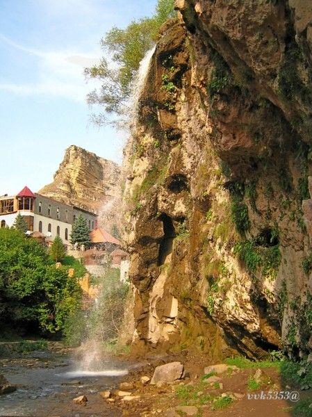 Медовые водопады(Кисловодск)