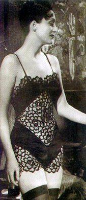 Arletty in the French film 'Le jour se lève,' 1939