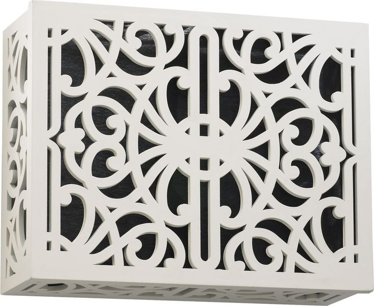"View the Quorum International 7-115 6"" x 7.75"" Traditional Surface Mount Door Chime Grill Cover  at Build.com."