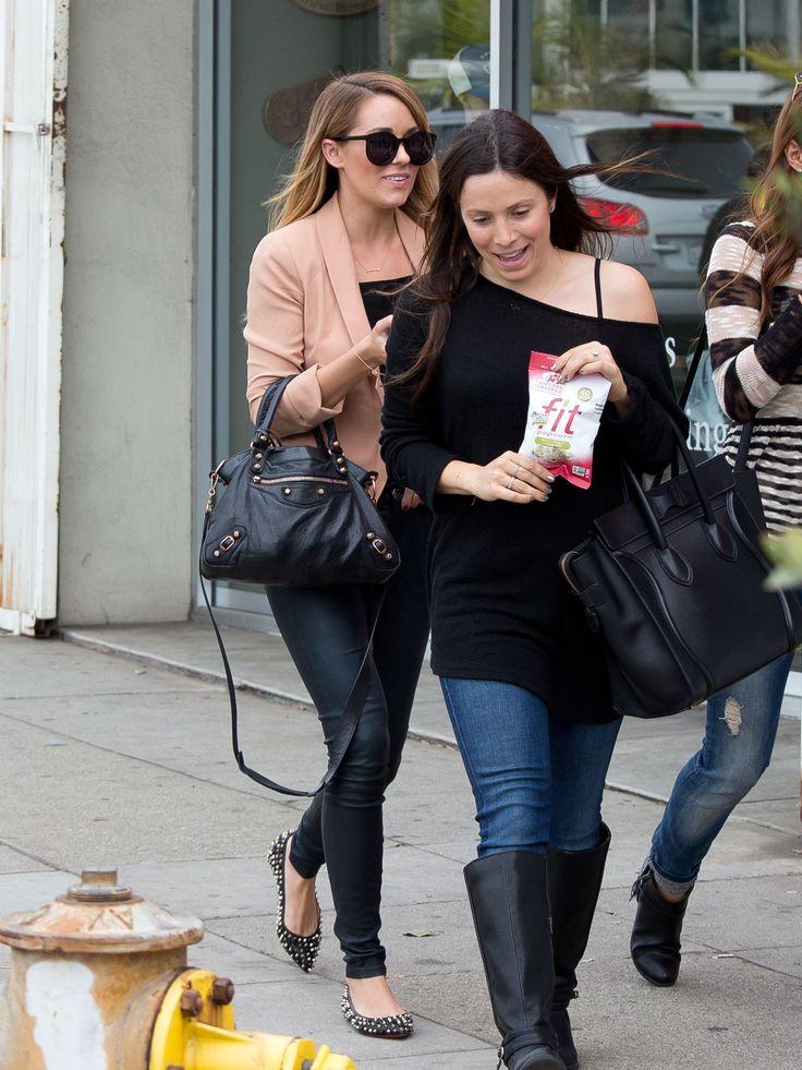 Lauren Conrad loves that Balenciaga bag