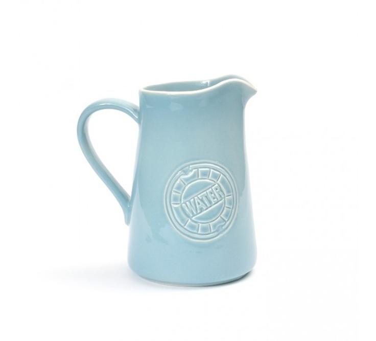 WateR waterkan ijsblauw / Bowls and Dishes voor kleur bankkussens