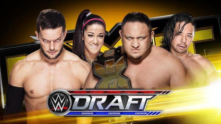 SmackDown y Raw se separaron, y ya se conocen a sus representantes. Los luchadores de la WWE por fin pelearán bajo dos banderas distintas.