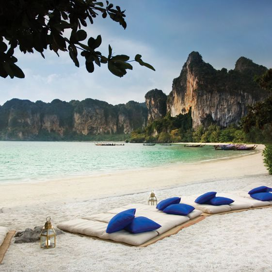 Rayavadee, Thailand. >> This is precisely where I want to be at this very moment!