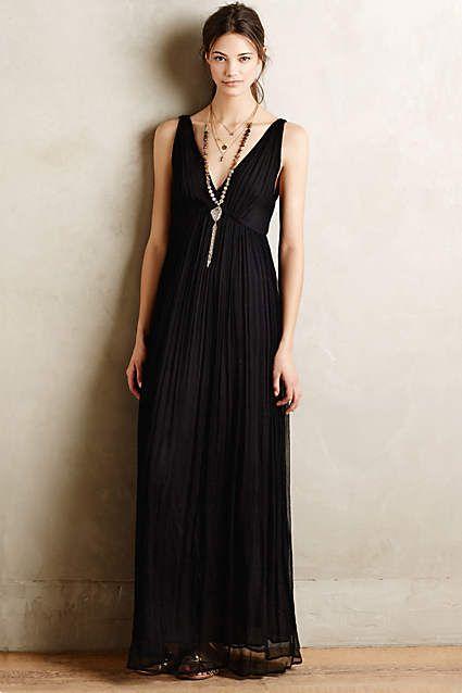Octavia maxi dress for Anthropologie mural maxi dress