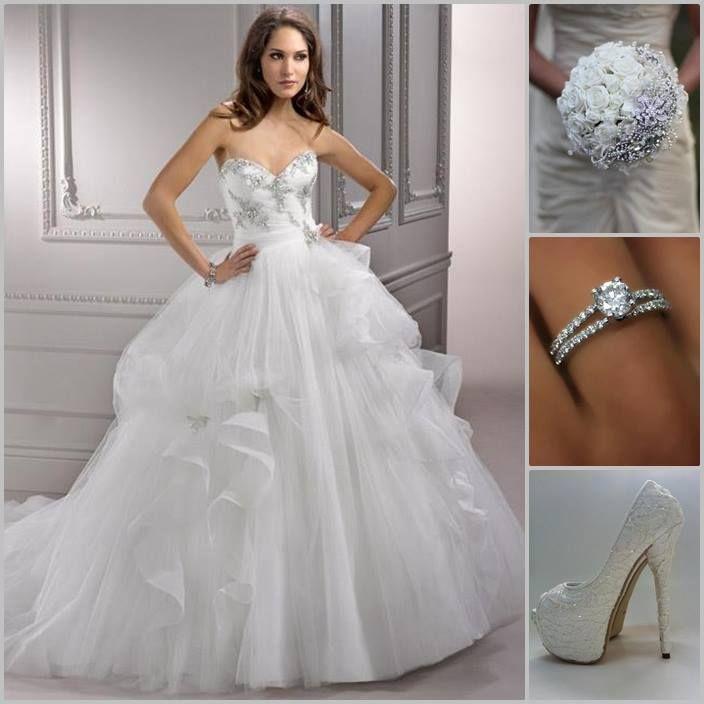 Tulle Wedding Dress My Wedding Ideas Wedding Outfit