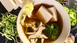 Beef Bone Broth Recipe | The Chew - ABC.com 'For your health to drink it.
