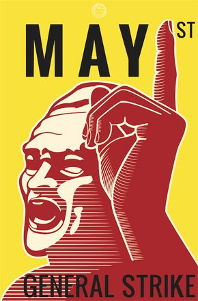 1 de Mayo.Huelga general