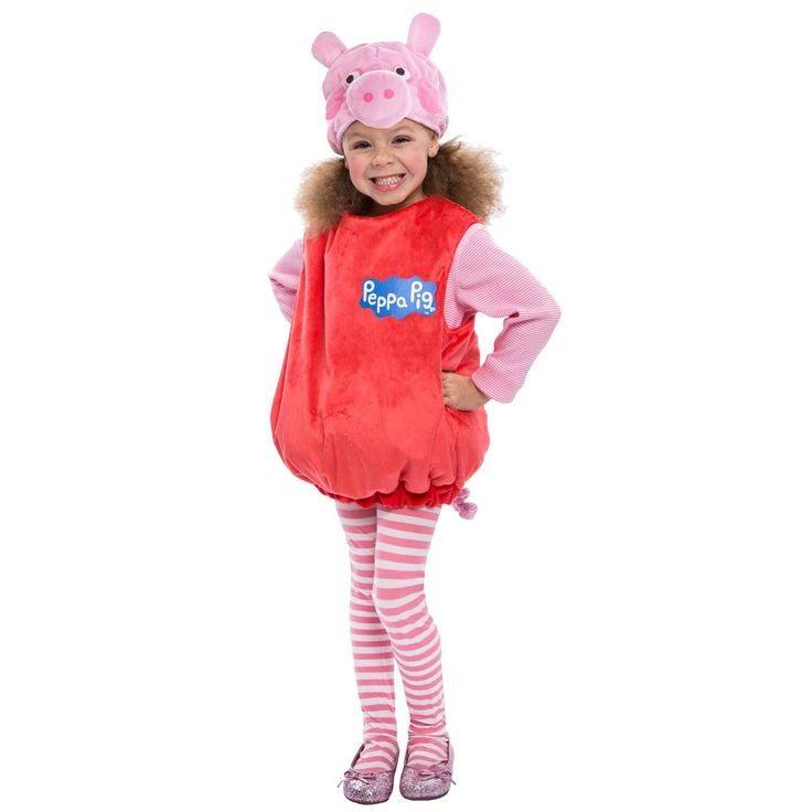 The 25 best piglet halloween costume ideas on pinterest piglet toddler peppa pig deluxe costume solutioingenieria Images