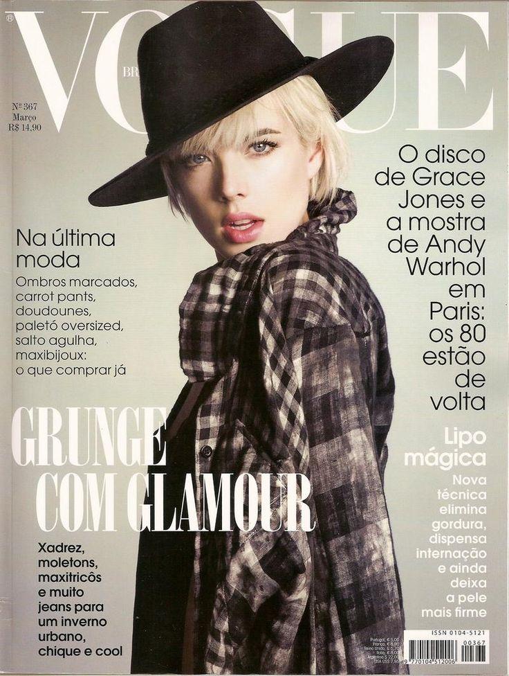 Agyness Deyn, Vogue Brasil (2009)