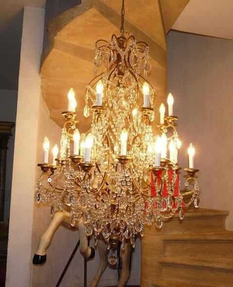 Aliexpress.com : Buy Classic candle crystal lamp chandelier pendant  decorative candle crystal chandelier I9007
