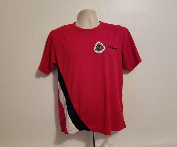 Chivas Club Deportivo Guadalajara Mexican Football Adult Medium Red Jersey #Guadalajara