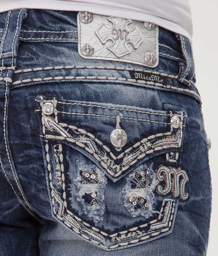 Miss Me Straight Stretch Jean - Women's Jeans | Buckle