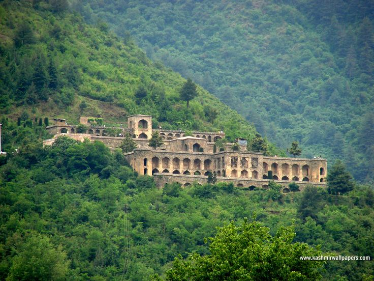 Pari Mahal (Palace of the Fairies) is  located atop Zebanwan mountain,  about 10 km from Srinagar, India. Pari Mahal was built in the mid-seventeenth century on the ruins of a Buddhist monastery by Prince Dara Shikoh, the eldest son of Shah Jahan. Prince Dara, a follower of the Qadiri order of Sufi Islam, had a great interest in mysticism, and he built the garden for his Sufi tutor, Mullah Shah Badakhshi. It was used as an observatory for the teaching of astrology and astronomy.