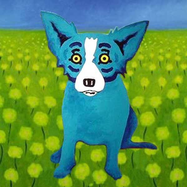 George Rodrigue Blue Dog