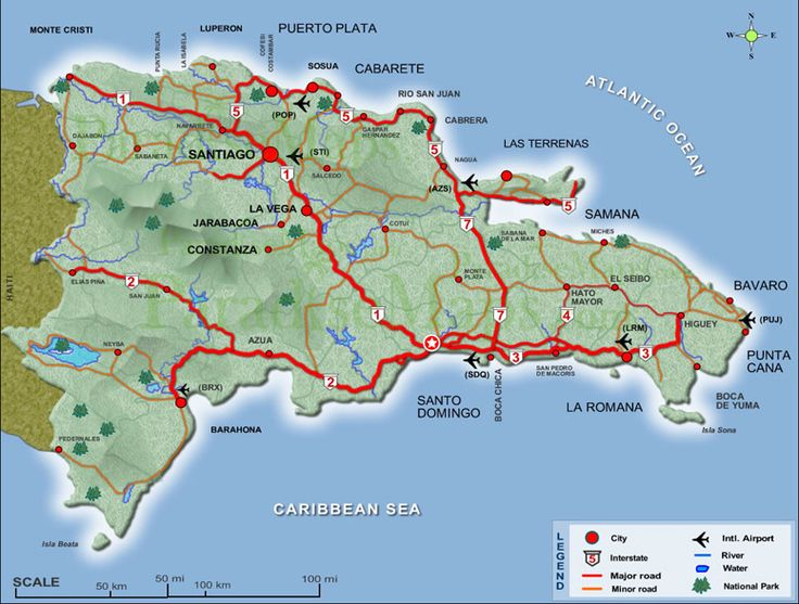 Best Map Of Dominican Republic Ideas On Pinterest Dominican - Map of dominican republic world