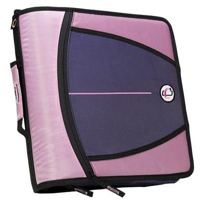"Case•it Zipper Binder - Lavender (3"")"