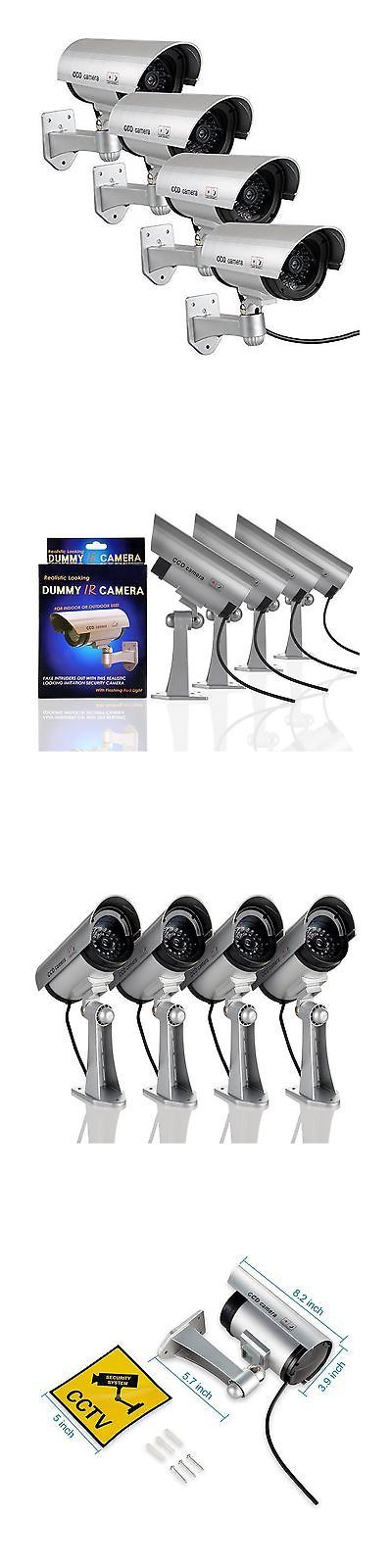 Dummy Cameras: Dummy Security Camera Cctv Removable Plastics Suit For Indoor Outdoor Occasio... -> BUY IT NOW ONLY: $33.77 on eBay!