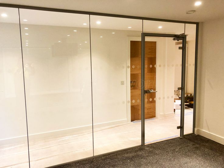 The 25+ best Glass partition wall ideas on Pinterest | Glass partition designs Glass partition and Glass walls & The 25+ best Glass partition wall ideas on Pinterest | Glass ...