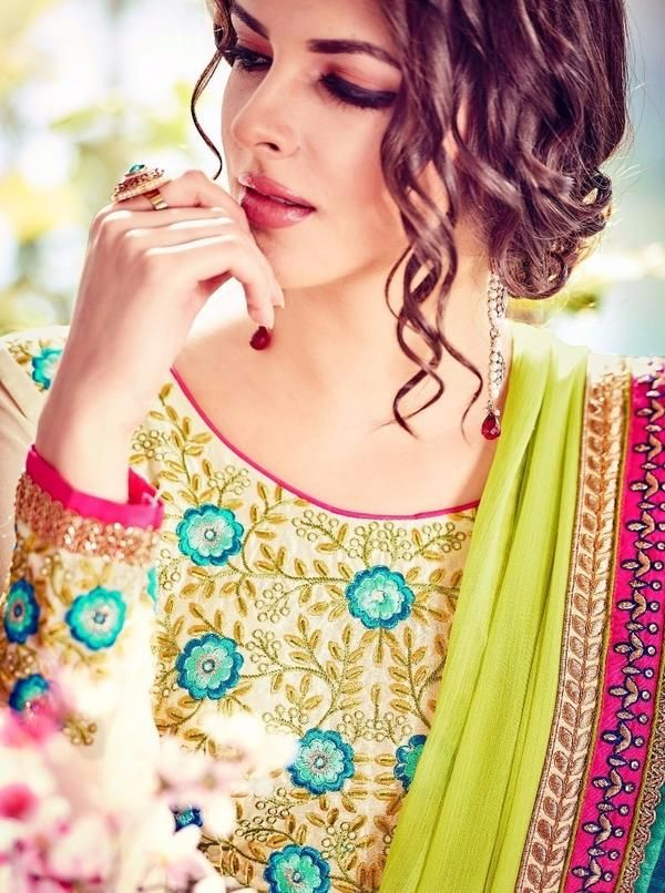 #VYOMINI - #FashionForTheBeautifulIndianGirl #MakeInIndia #OnlineShopping #Discounts #Women #Style #EthnicWear #OOTD #Suit #Anarkali Only Rs 4285/, get Rs 445/ #CashBack,  ☎+91-9810188757 / +91-9811438585