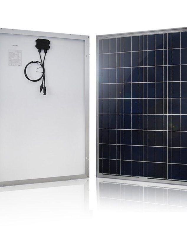 HQST 100 Watt Polycrystalline Solar Panel