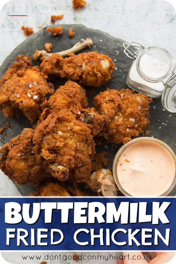 Buttermilk Fried Chicken Chickenrecipes This Buttermilk Fried Chicken Recipe Is Packed With All In 2020 Chicken Recipes Chicken Wing Recipes Fried Chicken Recipes