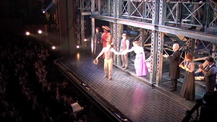 Newsies Opening Night on Broadway Curtain Call..... weeping.