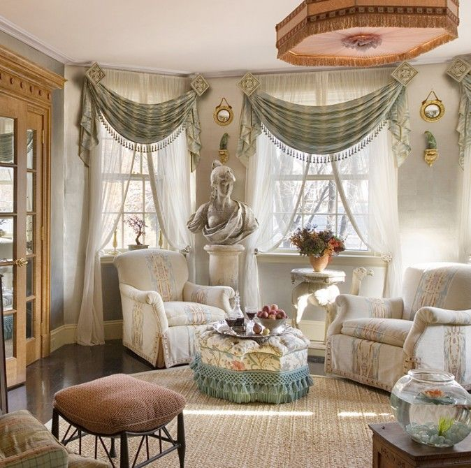 Heidi pribell interiors curtain ideas blinds etc 1 for Old world window treatments