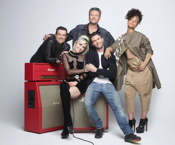 THE VOICE Season 11 Promo Photos via @seat42f