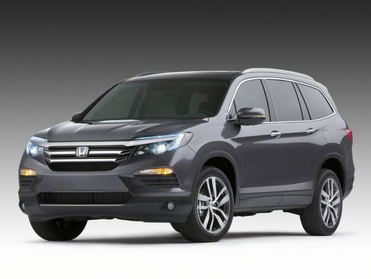Honda's 2016 Pilot - New inside and out. Couldn't you see this as your next crossover/SUV?