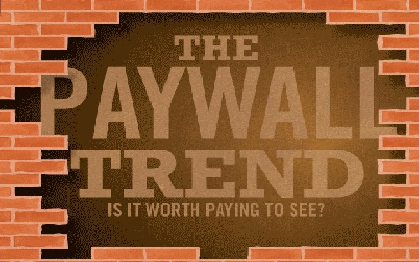 How widespread is the shift from free to pay on today's Internet? Can newspaper sites survive behind paywalls? Take a look at the trends in this fact-filled infographic.