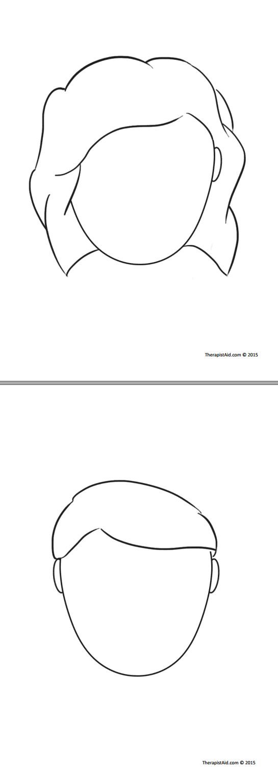 worksheet Therapy Worksheets For Kids 1818 best play therapy images on pinterest outline to use for end of session have client draw a line down the middle face one side them who they were