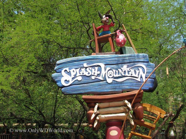 Splash mountain sign | Walt Disney World | Pinterest