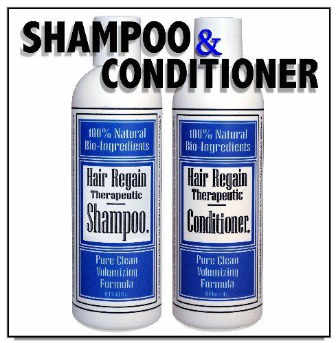 Regain Hair Loss Shampoo and Volumizing Conditioner Combo - 2 Month Supply >>> Read more reviews of the product by visiting the link on the image.